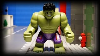 Lego Hulk's Day Off