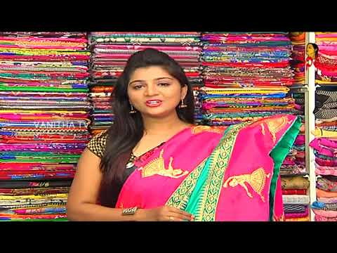 Xxx Mp4 Rama Green Color Raw Silk Fabric Saree With Contrast Blouse New Arrivals Vanitha TV 3gp Sex
