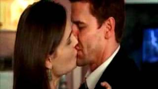 Bones and Booth Kiss (They swap GUM!)