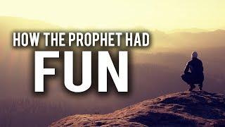 HOW THE PROPHET (S) HAD FUN - BEAUTIFUL VIDEO