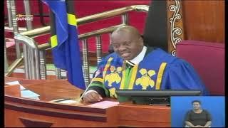 Spika Ndugai: Watani zangu leo…mvumilie tu hii sindano