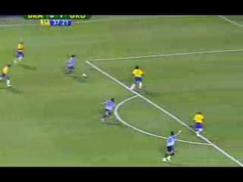 Eliminatórias Brasil 2 x 1 Uruguai