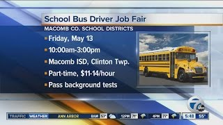Workers Wanted: School bus driver job fair