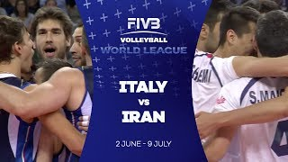 Italy v Iran highlights - FIVB World League
