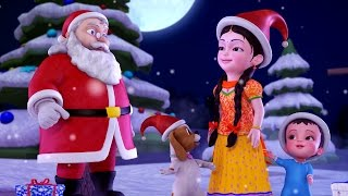 Jingle Bells Christmas Songs for Kids | Hindi Rhymes for Children | Infobells