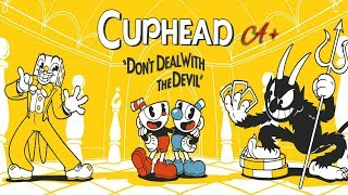 Gambling-Addicted-Cup-Kitten VS The World! - Cuphead All Bosses A+