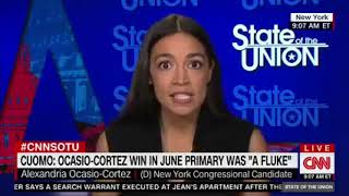 "Ocasio-Cortez: Cynthia Nixon Lost Because I ""Focused on Local Candidates"""