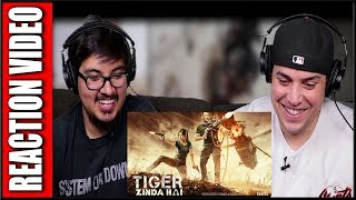 Tiger Zinda Hai Official Trailer Reaction Video | Salman Khan | Katrina Kaif | Review | Discussion