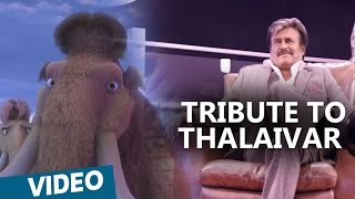 Kabali | Tribute To Thalaivar from Ice Age:5 gang | Hindi | Rajinikanth | Santhosh Narayanan