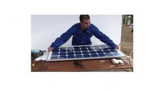 DIY Solar Panels and Wind Turbines at home.