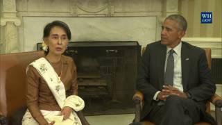 President Obama & State Counselor Aung San Suu Kyi