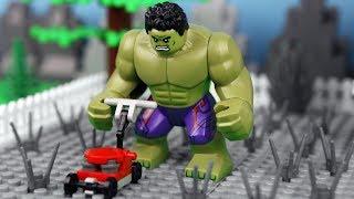 Lego Hulk Prank Fail - Super Heroes Stop Motion Animation
