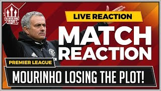 Huddersfield 2-1 Manchester United | Mourinho Madness Costs United!