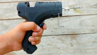 How to Make a Drill Machine From Glue Gun | Modded Glue Gun
