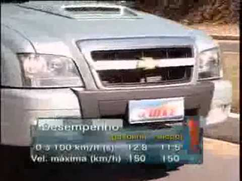 Vrum testa a Chevrolet S10 FlexPower 2009