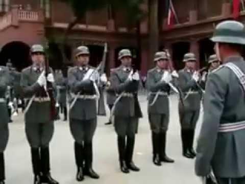 preussens ejército chileno. cambió de guardia