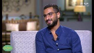 صاحبة السعادة |  نجوم رمضان ج2  لقاء مع محمد الشرنوبى | الجزء الاول