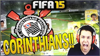TIME DE EX JOGADORES DO CORINTHIANS! FIFA 15 ULTIMATE TEAM