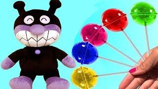 アンパンマン アニメ おもちゃ - ロリポップ - Anpanman Toys | The Surprise For Kids