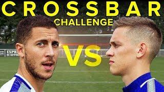 EDEN HAZARD Crossbar Challenge - WHO WINS?