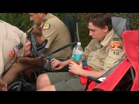 Barefoot Mailman  2/4/2012 Troop 406