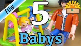 5 ARTEN von BABYS! Playmobil Film deutsch | Baby, Unfall, Füttern und und und