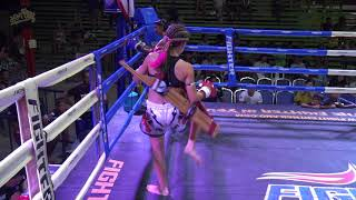 Jodie Mccarthy vs Yinglek Lukraigym - Rawai Stadium 36kg Title Fight
