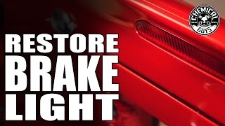 How To Restore Brake Lights - Chemical Guys SN95 Mustang