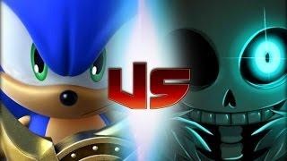 Sonic Vs Sans (Rap Battles Of Video Games All-Stars)(Season 4)