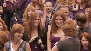 Gingers Unite for Redhead Fest in Netherlands