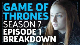 Game Of Thrones Season 7 Episode 1 Dragonstone Breakdown!