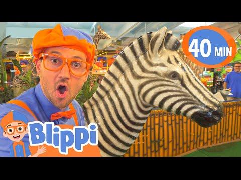 Blippi Learns Jungle Animals Animals For Kids Educational Videos For Children