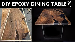 DIY Epoxy Dining Table—How to Woodworking—Part One of Two