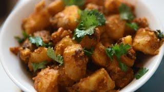 Aloo Fry - Potato Fry -  Bangala Dumpa Vepudu