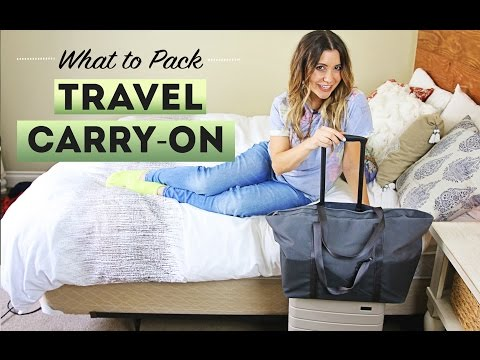 What To Pack CARRY ON LUGGAGE
