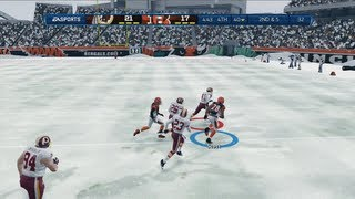 Just Call Me the Comeback Kid   Snow Game - Madden 13 Online Gameplay (Bengals vs Redskins)