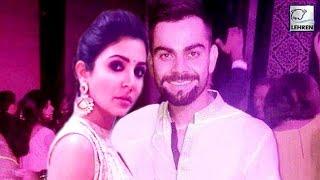 Virat Kohli and Anushka Sharma Together At Yuvi's Wedding   Yuvraj Singh Hazel Keech   LehrenTV