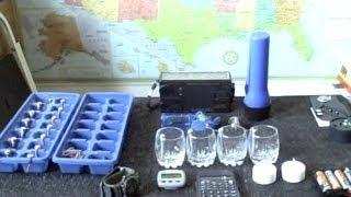 Homemade Battery 1.5v - 12v water powered (lights, clocks, calculators) - how to make - simple DIY