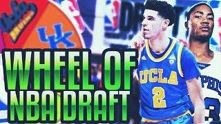 WHEEL OF NBA DRAFT NUMBERS | NBA 2K17 MYTEAM