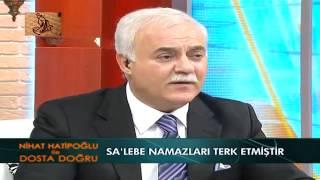 Nihat Hatipoglu- Salebe (ibretlik sahabe hayati)