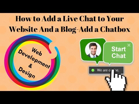 How to Add a Live Chat to Your Website And a Blog-Add a Chatbox to Any Website- URDU/HINDI