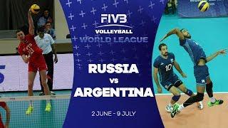 Russia v Argentina highlights - FIVB World League