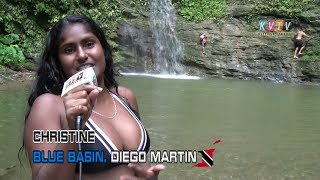 Blue Basin Waterfall, Diego Martin