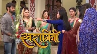 Swaragini | 25th May 2016 | Swara MEETS Maheshwari Family But Gets SCARED From Sanskaar