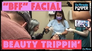 A Bloody Fantastic Facial (BFF) with Beauty Trippin