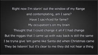 J. Cole - Window Pain (Lyrics)