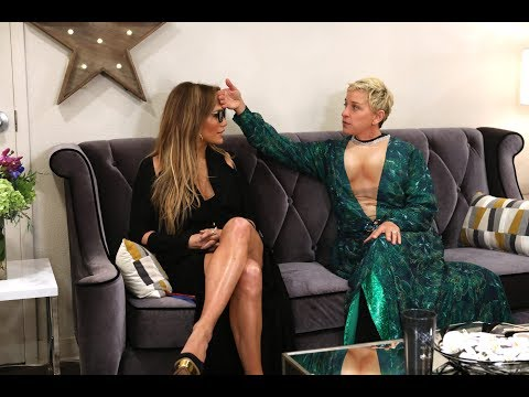 Xxx Mp4 Ellen Helps Prep Jennifer Lopez For Her Las Vegas Show 3gp Sex