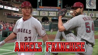 MLB The Show 17 Angels Franchise EP4 Hitting Coach is Really A Pitching Coach? MLB 17