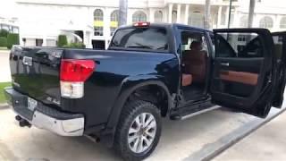 ឡានមួយទឹកថ្មីេចស   Toyota Tundra 2011 platinum   Used Car   Car Shopping