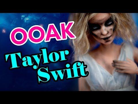 ДоллСтар 1: Тейлор Свифт Зомби - Taylor Swift Look What You Made Me Do | ООАК Барби (Barbie)